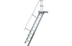 Plattformtreppe 60°